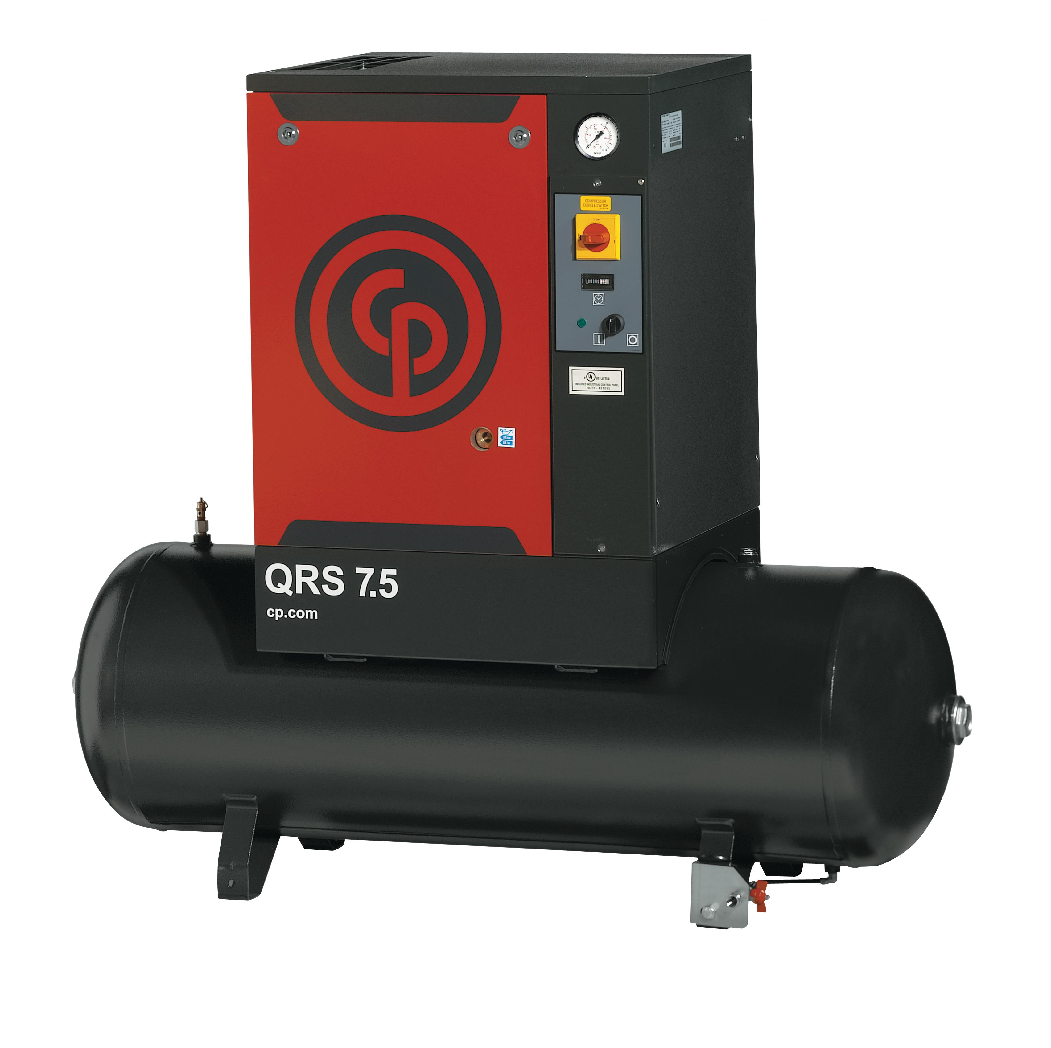 Rotary Screw Compressor : Chicago pneumatic quiet rotary screw compressors to